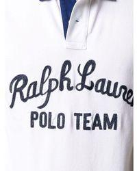 Polo Ralph Lauren - Polo Shirt S/S Knit Blanco - Lyst