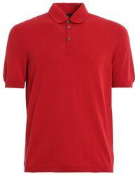 Paolo Fiorillo Capri Polo shirt 5711920615 242 - Rosso