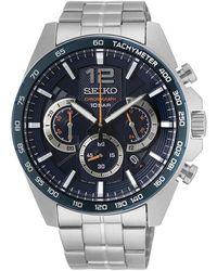 Seiko Watch UR - Ssb345P1 - Grau