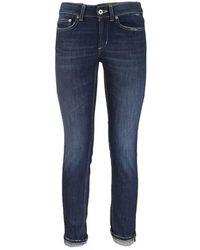 Dondup Pantalone jeans skinny di Monroe - Blu