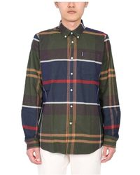 Barbour Chemise Coupe Tailleur - Vert