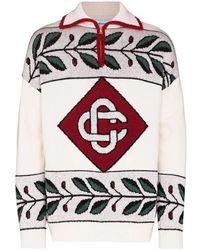 CASABLANCA Sweater - Wit