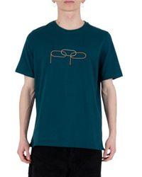 Pop Trading Company T-shirt - Bleu