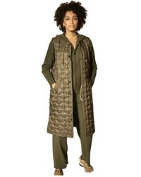 Mos Mosh Elvina Quilted Down Waistcoat 139590 - Groen