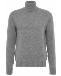 Ballantyne Knitwear T2p111 12 - Grijs