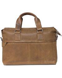 Plevier Laptop Bag 472 15.6 Inch - Bruin
