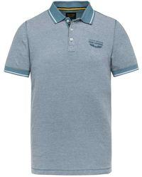 PME LEGEND Polo Shirt - Blauw