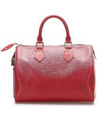 Louis Vuitton Epi Speedy 25 Pelle Epi - Rosso