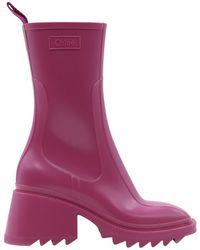 Chloé Boots - Roze