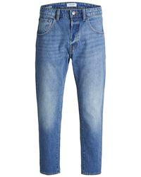 Jack & Jones Tapered Jeans Frank Leen Cr 073 Ltd - Blauw