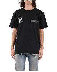 Paura T-shirt Con Stampa - Zwart