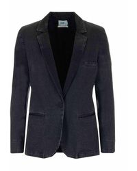 Forte Forte 8434nero8000 jacket - Noir