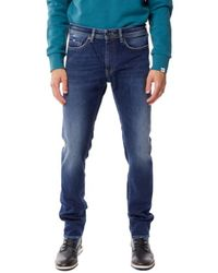 Gas Albert Simple Jeans - Blauw