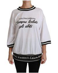 Eton Fashion Eden Blouse Cotton Top - Blanc