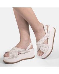 Elvio Zanon Sandals - Blanc