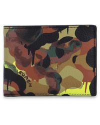 COACH Bi-fold Wallet - Bruin