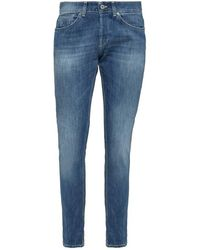 Dondup George Skinny Fit Jeans - Blauw