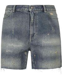 Saint Laurent Shorts - Blauw