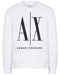 L'Autre Chose Crewneck sweatshirt - Blanc