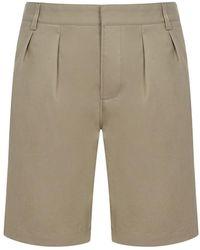 Saint Laurent Shorts - Naturel