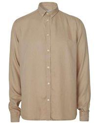 Les Deux Laurent Dobby Shirt - Naturel