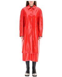 MSGM Coat - Rood