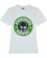 SSS World Corp Starbucks T-Shirt - Blanc