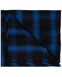 Balenciaga Hooded Scarf - Blauw