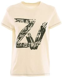 Zadig & Voltaire T Shirt - Naturel