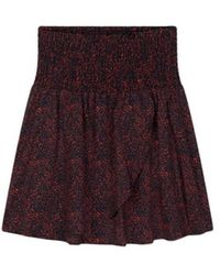 Alix The Label Mini print skirt - Marrone