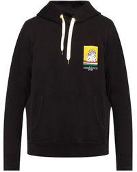 CASABLANCA Logo hoodie - Noir