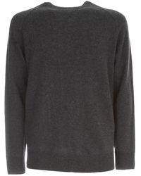Aspesi Wool Sweater Geelong - Gris