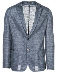 Emporio Armani Men's Jacket Blazer - Blauw