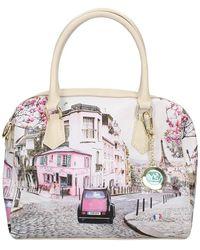 Y Not? Handbag Paris Charleston - Rosa