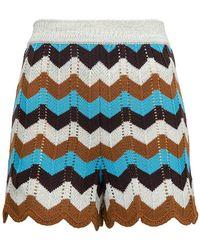 M Missoni Shorts - Blauw