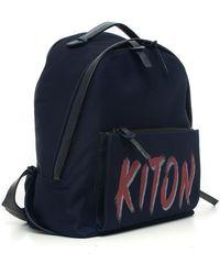 Kiton Rucksack Azul