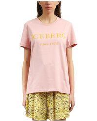 Iceberg T-shirt - Roze