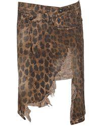R13 Norbury Skirt - Bruin