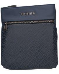 Bikkembergs E2bpme810022 Shoulder Belt Bag - Blauw