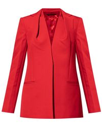 Givenchy Blazer With Notch Lapels - Rood