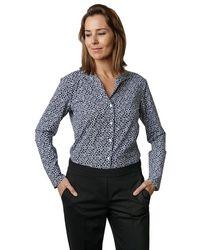 Xacus Shirt Frida Kt/75465 004 - Blau