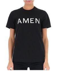 Amen T-shirt - Noir
