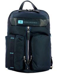 Piquadro Pc Backpack Pq-bios 14.0 - Blauw
