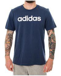 adidas T-shirt Linear Tee - Blauw