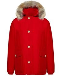 Woolrich Arctic Anorak Parka - Rood