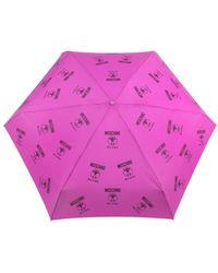 Moschino Ombrelli 8560-superminij Umbrella - Roze