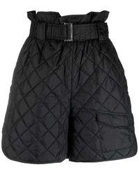 Ganni Shorts - Zwart