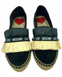 Love Moschino Espradillas - Negro