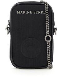 Marine Serre - Mini Bag One Pocket Phone Case - Lyst