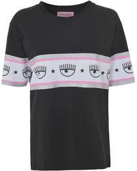 COACH Maxi Logomania T Shirt Over - Zwart